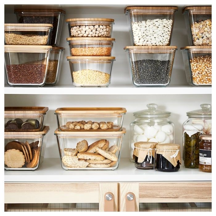 The Wild Decoelis | 7 Easy Tips for Organizing Your Pantry | using Ikea glass jars