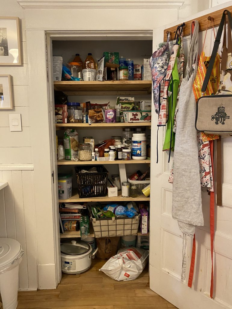 The Wild Decoelis | 7 Easy Tips for Organizing Your Pantry | the before