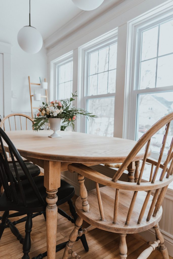 How To Refinish An Antique Dining Set, Refurbishing Dining Room Chairs