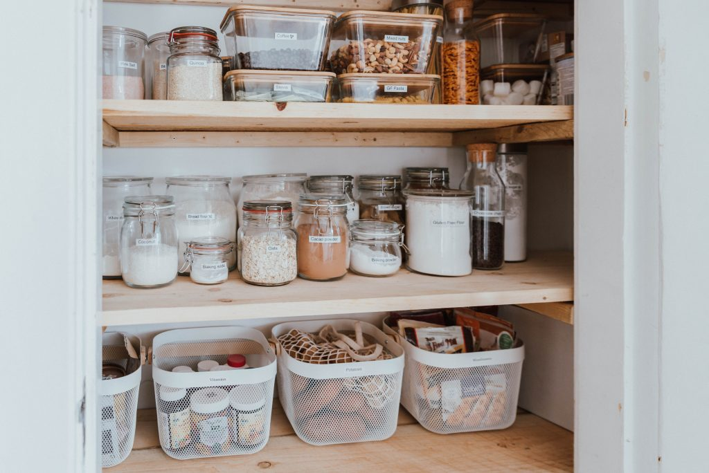 The Wild Decoelis | 7 Easy Tips for Organizing Your Pantry | best way to organize your food cupboard