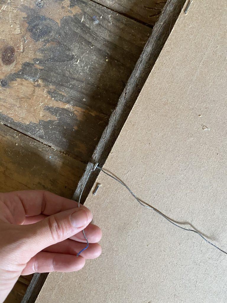 The Wild Decoelis   How To Make A DIY Framed Vintage Rug for under $100